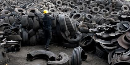 Polambiente apuesta por construcción sustentable a partir de neumáticos