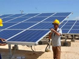 Marchan a buen ritmo las obras de construcción de cuarto parque solar fotovoltaico en Cienfuegos