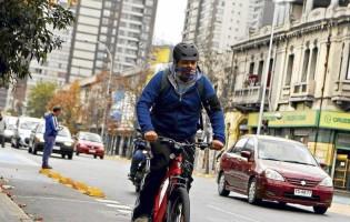 Rechazan proyecto para concesionar ciclovías en el Gran Santiago