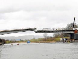 Cau Cau: fiscal cotejará en terreno testimonios con el diseño del puente