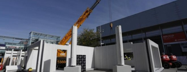 La construcci n industrializada de viviendas avanza a paso for Construccion de casas paso a paso