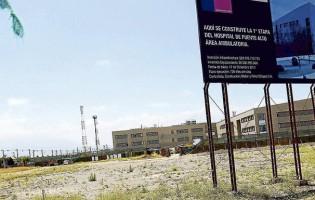 A tres años de primera piedra, Hospital de Puente Alto aún no inicia obras