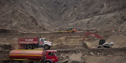 Antofagasta: avanza construcción de vías aluvionales