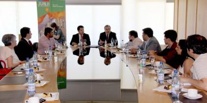 JUNJI y UTalca firman convenio para la construcción de una sala cuna y jardín infantil en campus Talca