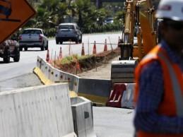 28 por ciento de avance presenta construcción de Avenida Padre Hurtado en Los Ángeles
