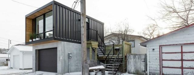 Las casas horombo son hechas con contenedores - Contenedores para vivir ...