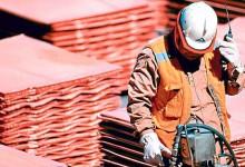 Tensión internacional impulsa al cobre, que sube 25% en el año