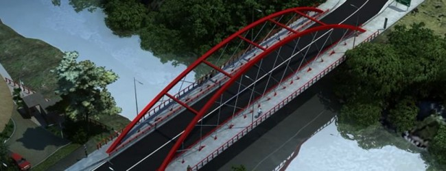 MOP entregó terrenos para la construcción del puente Manchuria en Curacautín