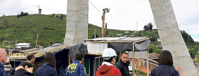 Fiscalía investigará las actas de la licitación del puente en Temuco