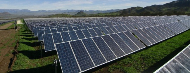 El 83% de la energía que entrará en operación durante 2018 será renovable