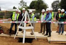 Inician construcción de nuevos edificios de la Dirección Provincial de Vialidad en Valdivia