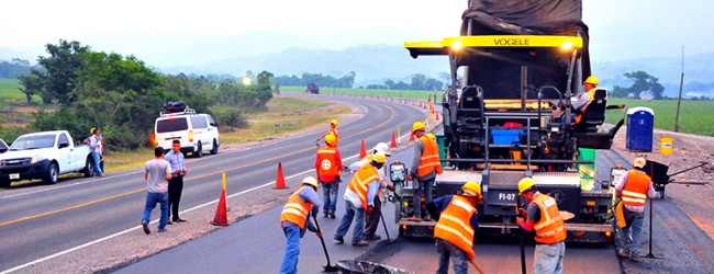 Carreteras impulsaron el sector construcción
