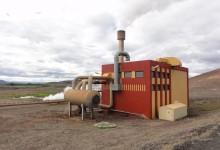 Construcción de la planta geotérmica Bjarnarflag, continúa en Islandia