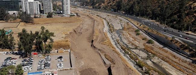 Vitacura da inicio a obras de construcción de una nueva etapa de la autopista Costanera