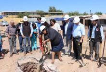 Inicia la construcción de viviendas para familias que vivían en campamentos en Combarbalá
